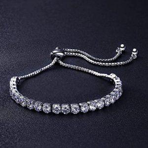 Pandora Adjustable Tennis Bracelet w/ 4mm Zirconia